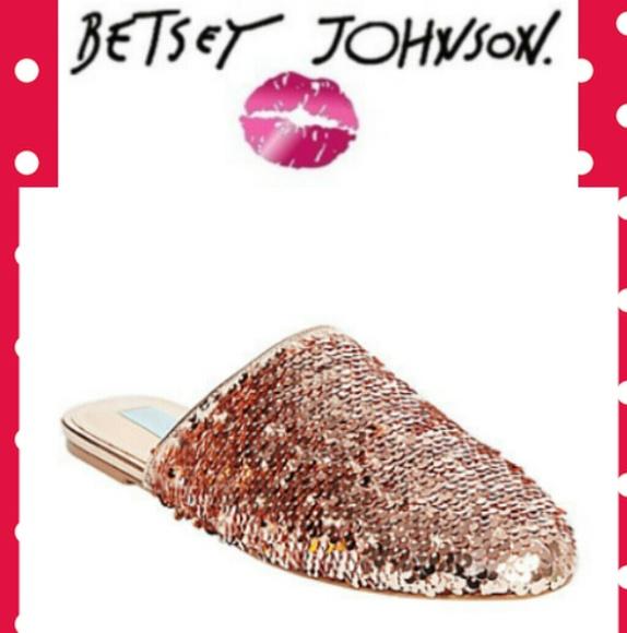 Betsey Johnson Cass Sequin Slide MxfT9Iop